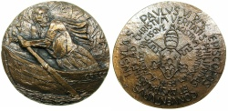 World Coins - ITALY.VATICAN CITY.Pope Paul VI 1963-1978.AE.Medallion.1970.~~~.Papal visit to the Philippines.