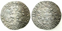 World Coins - ITALY.Kingdom of Naples.Robert 'The Wise' of Anjou AD 1309-1343.AR.Gigliato.