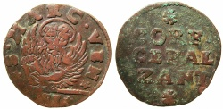 World Coins - VENICE.IONION ISLANDS.Giovanni Corner AD 1709-1722.AE.2 Gazzettas ( circa 1710-21 ).