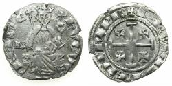 World Coins - CRUSADER STATES.CYPRUS.Hugh IV AD1324-1359.AR.Gros Grand. Letter B in field. ***Ex.Lambros collection ***