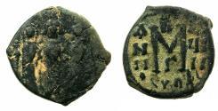 Ancient Coins - BYZANTINE EMPIRE.CYPRUS.Heraclius AD 610-641.AE.Follis AD 627-628.
