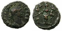 Ancient Coins - EGYPT.ALEXANDRIA.Probus AD 276-282.Billon Tetradrachm, struck AD 277/278. ~#~.Tyche standing