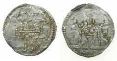 World Coins - SERBIA.Stefan VIII Uros IV Dusan as Emperor AD 1345-1355.AR Dinar.