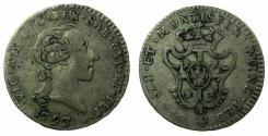 World Coins - ITALY.SARDINIA.Vittorio Amadeo III King of Sardinia 1773-1796.Billon Reale 1793.Mint of TURIN.