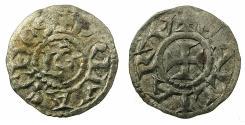 World Coins - FRANCE.LYONNAIS.Archeveche de Lyon.13th cent AD.Billon Denier.