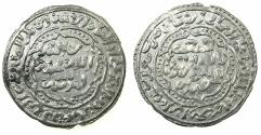 Ancient Coins - YEMEN.RASULID DYNASTY.al-Mansur Umar 626-647H ( AD 1229-1250 ).AR.Dirhem.dated 642H.Mint of ADNA.