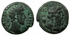 Ancient Coins - EGYPT.ALEXANDRIA.Commodus AD 180-192.Billon Tetradrachma.~#~. Bust of Nulus right.
