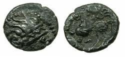 Ancient Coins - CELTIC.EASTERN CELTS.Danube region.Bilon Drachma 'Kapostaler'type. After Philip II of Macedon.