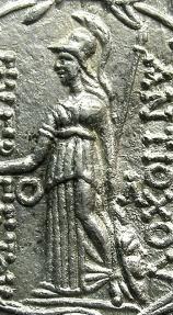 Ancient Coins - SELEUCID EMPIRE.SYRIA.Antiochus VII 138-129 BC.AR.Tetradrachm.Mint of ANTIOCH.
