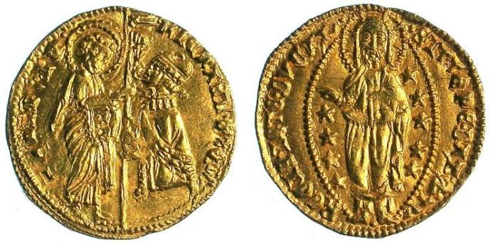 Ancient Coins - ITALY.Venice.Michele steno 1400-13.AV.Ducato .