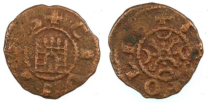 Ancient Coins - CRUSADER.County of Tripoli.attributed to Raymond III 1173-1187.AE.Castle type.1b