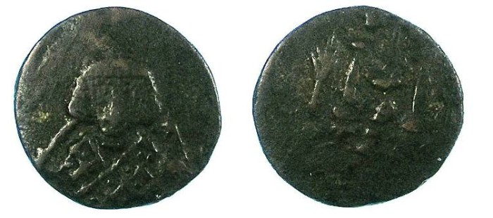Ancient Coins - BYZANTINE EMPIRE.Theodosius III AD 715-717.AE.Follis.Syracuse mint; Sicily.