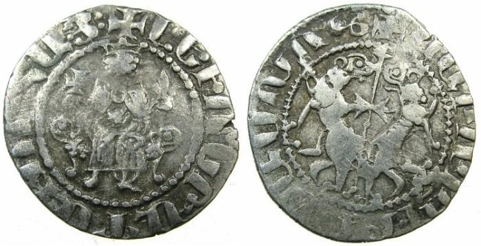 Ancient Coins - CILICIAN ARMENIA.Levon I 1198-1219.AR.Tram.