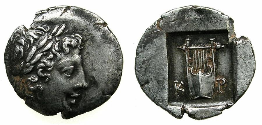 Ancient Coins - LYCIAN LEAGUE.Circa 48-42 BC.AR.Hemi Drachma.