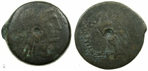 Ancient Coins - PTOLEMAIC EMPIRE.EGYPT.Ptolemy VIII Euergetes II 145-116 BC.AE.Mint of Alexandria.