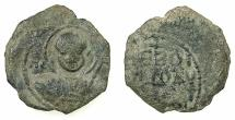 World Coins - CRUSADER STATES.Principality of ANTIOCH.Tancred AD 1104-1112.AE.Follis.1st type, small flan.