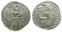World Coins - ITALY.VENICE.Andrea Dandolo AD 1343-1354.AR.Grosso.