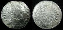 World Coins - ITALY.Philip II of Spain AD 1554-1598.2nd period as King of Naples and Sicily 1556-1598.AR.Mezzo Ducato. Mint of NAPLES.