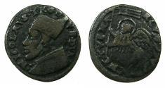 World Coins - ITALY.VENICE.Nicolo Tron AD 1471-1473.AE.Baggatino.