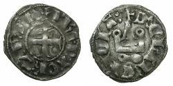 World Coins - CRUSADER STATES.Principality of ACHAIA.Philip of Taranto AD 1307-1313.Bi.Denier.Type 2.