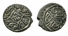 World Coins - TURKEY.Ottoman Empire.Mehmed II 2nd reign 855-886H AD 1451-1481.AR.Akce.855H.Mint of EDRINE.
