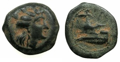 Ancient Coins - PHOENICIA.ARADOS.Circa 240-237 BC.AE.18mm.