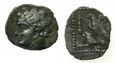 Ancient Coins - CILICIA.Uncertain location. 4th cent BC.AR.Tritartemorion.Reverse.Eagle on Lion.