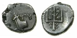 Ancient Coins - THRACE.BYZANTIUM.Circa 357-340 BC.AR.Hemidrachma, Rhodian standard.