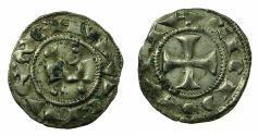 World Coins - ITALY.SIENA. Billon denaro Seneses. circa 1193-1390.