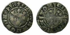 World Coins - ENGLAND.Edward I AD 1272-1307.AR.Penny.Mint of CANTERBURY.