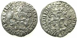 World Coins - ITALY.Kingdom of Naples.Robert 'The Wise' of Anjou AD 1309-1343.AR.Gigliato.Pothumus issue, uncertain ruler or mint.