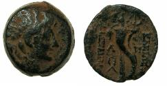 Ancient Coins - SELEUCID EMPIRE.Alexander II Zebina 128-123 BC.AE.21.Type C. Mint of ANTIOCH