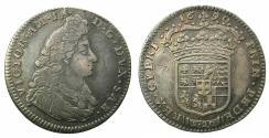 World Coins - ITALY.SAVOY.Vittorio Amadeo III AD 1680-1713.AR.Lire ( 20 Soldi ).1690.Mint of TURIN.