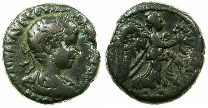 Ancient Coins - EGYPT.ALEXANDRIA.Severus Alexander Augustus AD 222-235.Billon Tetradrachm, struck AD 222/23.~#~.Nike.