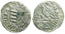 World Coins - ROMANIA.VOIVODES OF WALLACHIA.Dan I 1383-1386.Bi.Denier