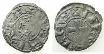 World Coins - CRUSADER STATES.Kingdom of JERUSALEM.John of Brienne 1210-1225.B.Denier.Acre mint?