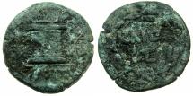 Ancient Coins - EGYPT.ALEXANDRIA.Augustus 30 BC-AD 13.AE.20mm, 3rd series.struck circa 3/2 BC.~~~Garland.