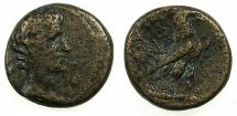 Ancient Coins - ASIA MINOR.AMORIUM.Augustus 27 BC - AD 14.AE.17mm.***Struck in the name Alexander Kallippou, 2 examples recorded in RPC I.
