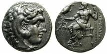 Ancient Coins - MACEDONIAN EMPIRE.CYPRUS.Alexander III 336-323 BC.AR.Drachma, struck circa 323-280 BC.Mint of Paphos.