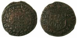 World Coins - ITALY.SAVOY.Vittorio Amadeo II , Duke of Savoy 1680-1730.AE.2 1/2 Soldi.1691.Mint of Turin.
