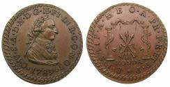 World Coins - SPAIN.Charles IV 1788-1808.AE.Proclamation medal 1789.RONDA