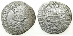 World Coins - ITALY.Kingdom of Naples.Robert 'The Wise' of Anjou AD 1309-1343.AR.Gigliato. Possibly posthumous issue, uncertain mint.