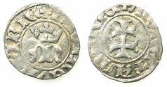 World Coins - HUNGARY.Maria AD 1382-1385.AR.Denar.