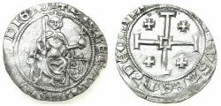 World Coins - CRUSADER STATES.CYPRUS.Peter I AD 1359-1369.AR.Gros Grand.Type A.