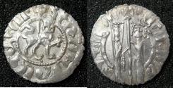 "World Coins - ARMENIA, Cilician kingdom. Hetoum I AD 1226-1270. AR.Tram.Mint of SIS. Class III.Obverse: ""Hetoum king """