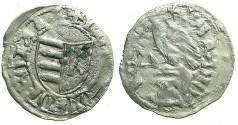 World Coins - ROMANIA.VOIVODES OF WALLACHIA.Dan I 1383-1386.Bi.Denier