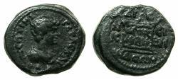 Ancient Coins - BITHYNIA.NICOMEDIA.Geta Caesar |AD 209-211.AE.18.7mm. Reverse.Altar.