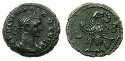 Ancient Coins - EGYPT.ALEXANDRIA.Probus AD 276-282.Billon Tetradrachm, struck AD 276/277.Reverse. Eagle on thunderbolt.