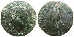 World Coins - ITALY.Kingdom of Naples and Sicily.Philip II of Spain, 2nd period 1556-1598.AE.Tornesi 1585.