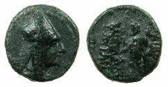 Ancient Coins - ARMENIA.ARTAXIADS.Tigranes II The Great 95-56 BC.AE.17.7mm.Mint of Tigranocerta.~#~.Herakles.